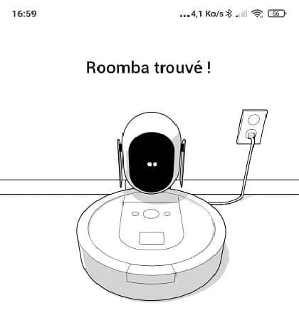 roomba i7 connexion wifi