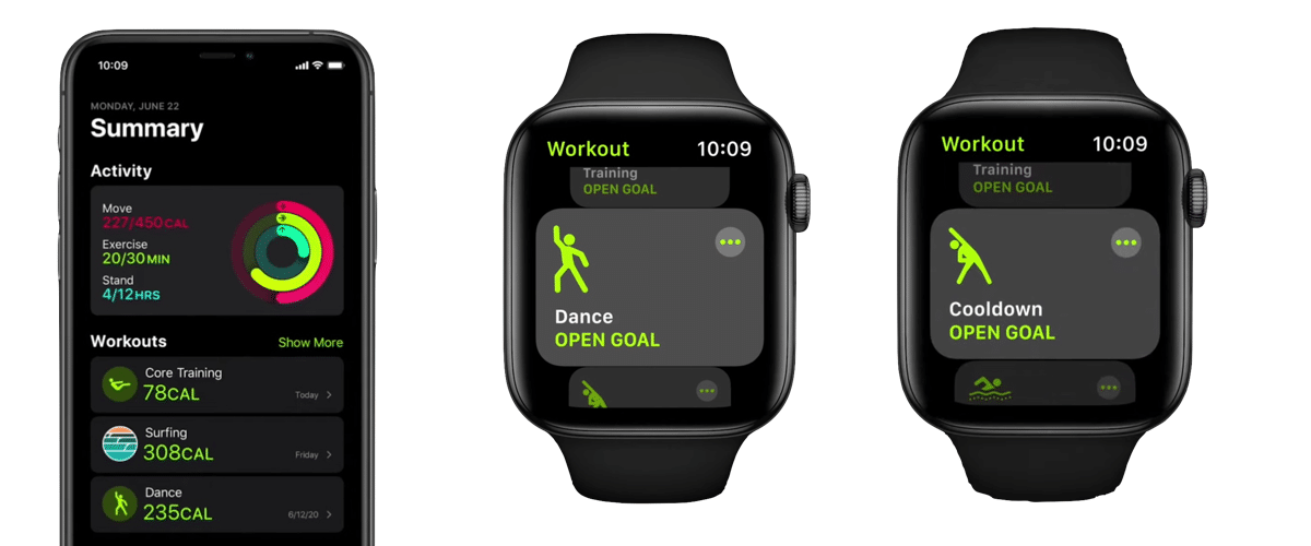 suivi sport Apple Watch 6