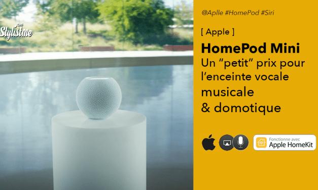 HomePod mini la bonne surprise abordable d'Apple