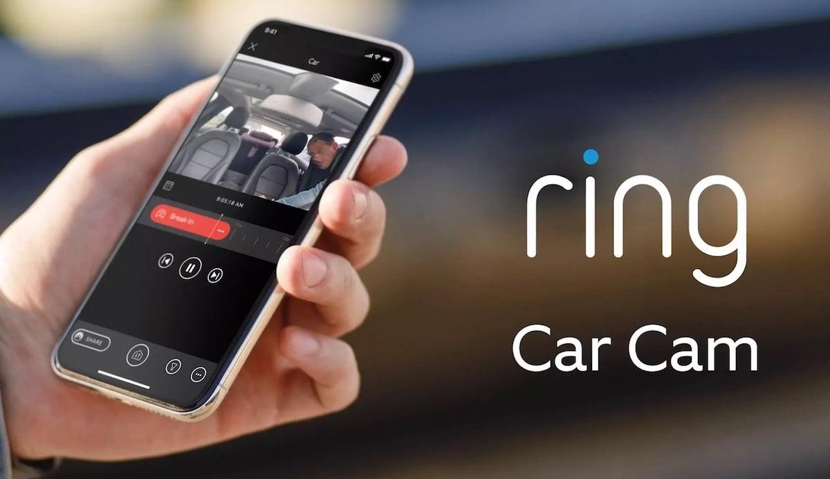 Ring Car Cam surveiller votre voiture à distance