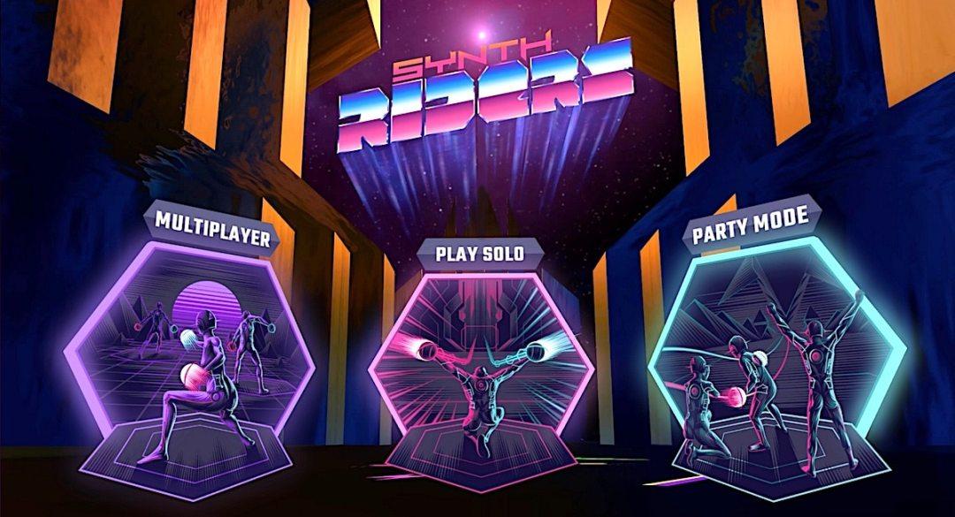 3 modes de jeu Synth Riders