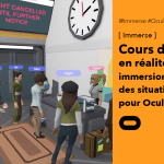 Immerse : cours d'anglais immersif sur Oculus Quest 2