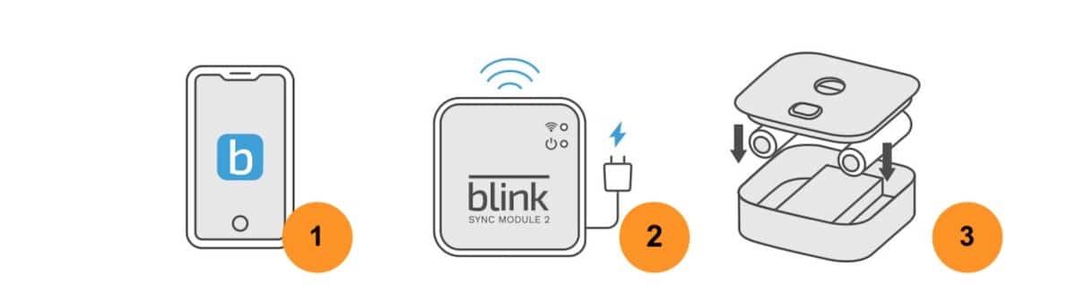 Installation Blink Outdoor