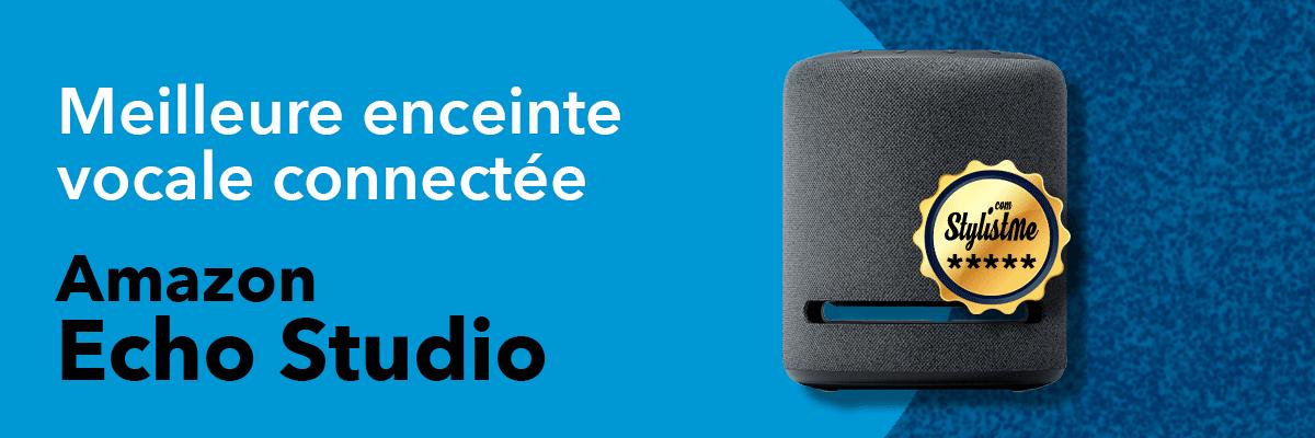meilleure enceinte vocale connectée Amazon Echo Studio