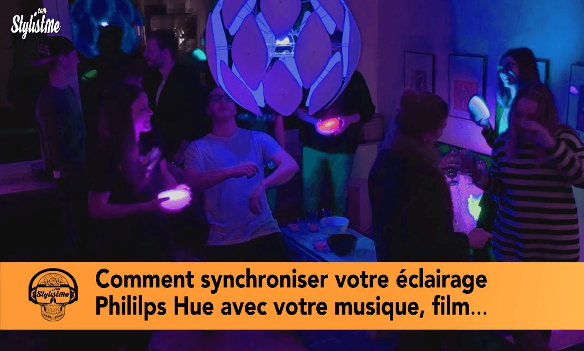 Comment synchroniser Philips Hue avec votre musique