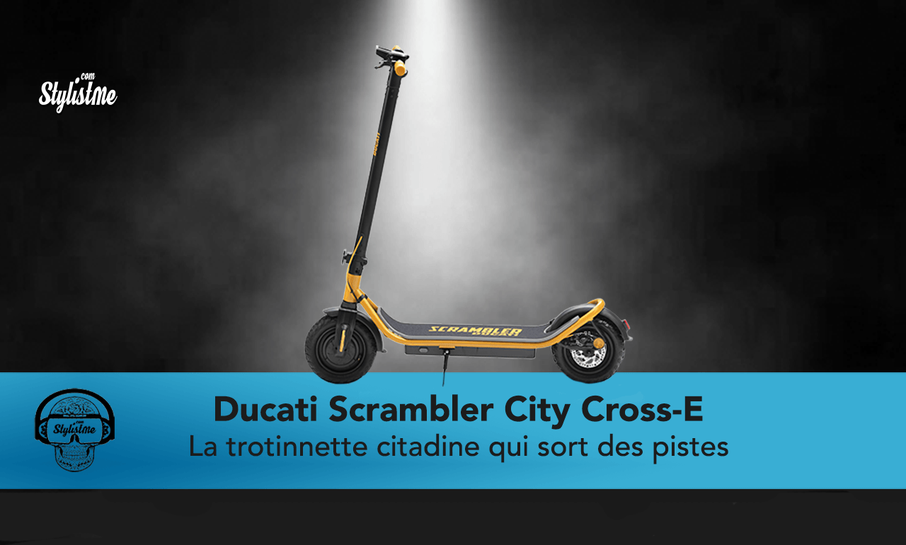 Ducati City Cross-E Scrambler avis test