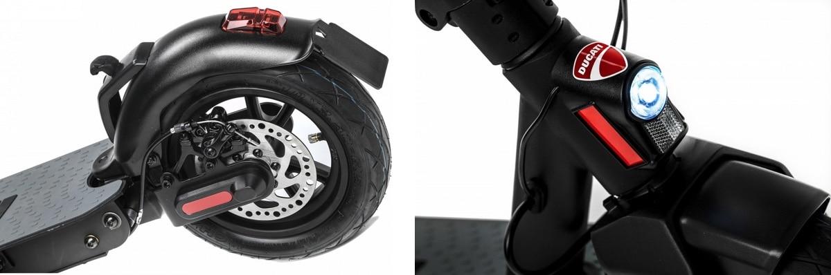 Ducati Pro 2 test trottinette électrique