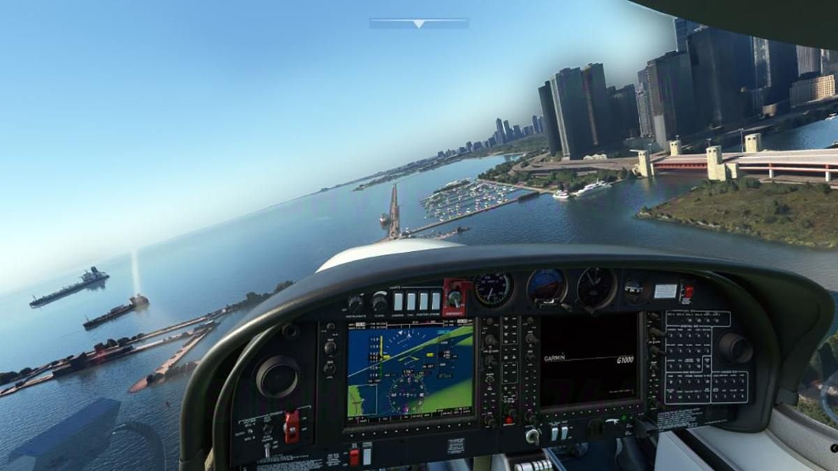 Flight Simulator 2020 test Chicago