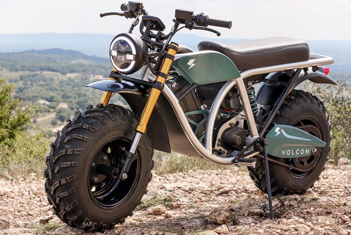 Volcon Grunt moto électrique tout terrain