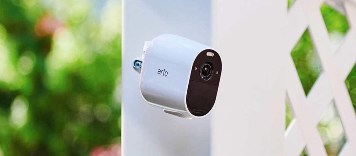 Arlo Esssential caméra connectée intérieur extérieur