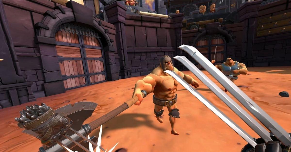Gorn VR Quest gameplay
