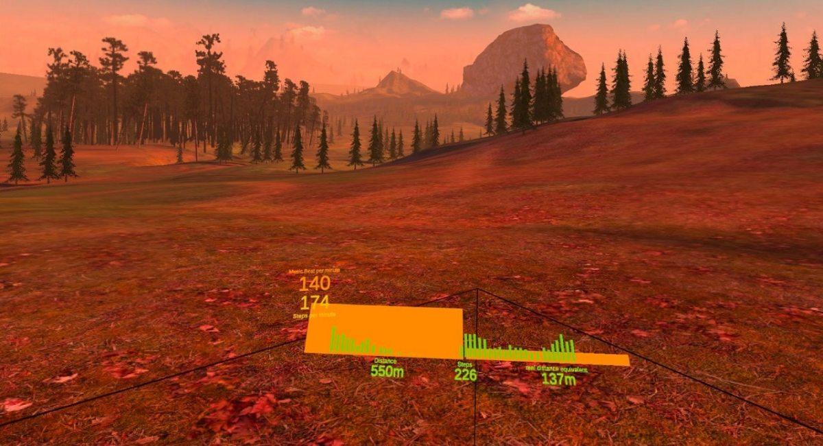 Happy Run VR tapis de course VR