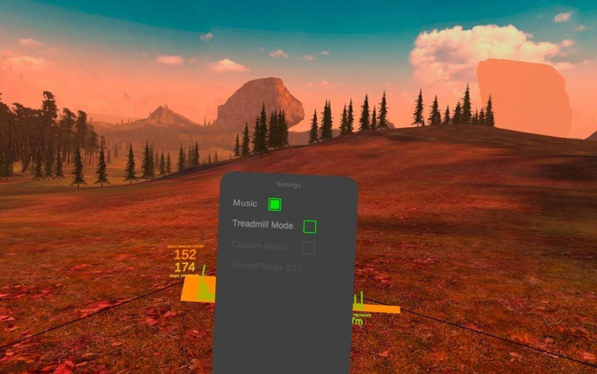 Happy Run tapis de course VR
