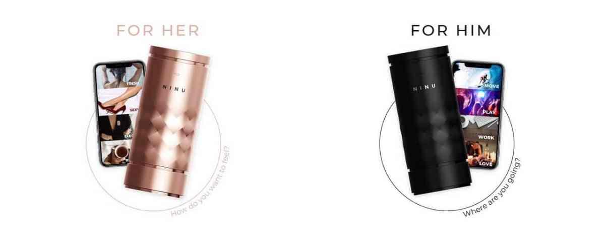 Ninu parfum connecté personnalisable