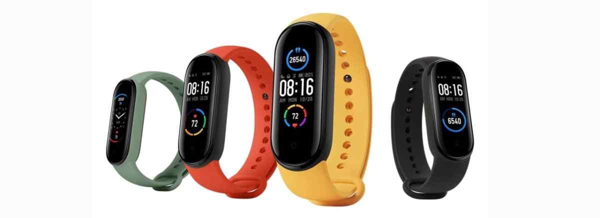 Xiaomi Band 5 bracelet connecté 2021