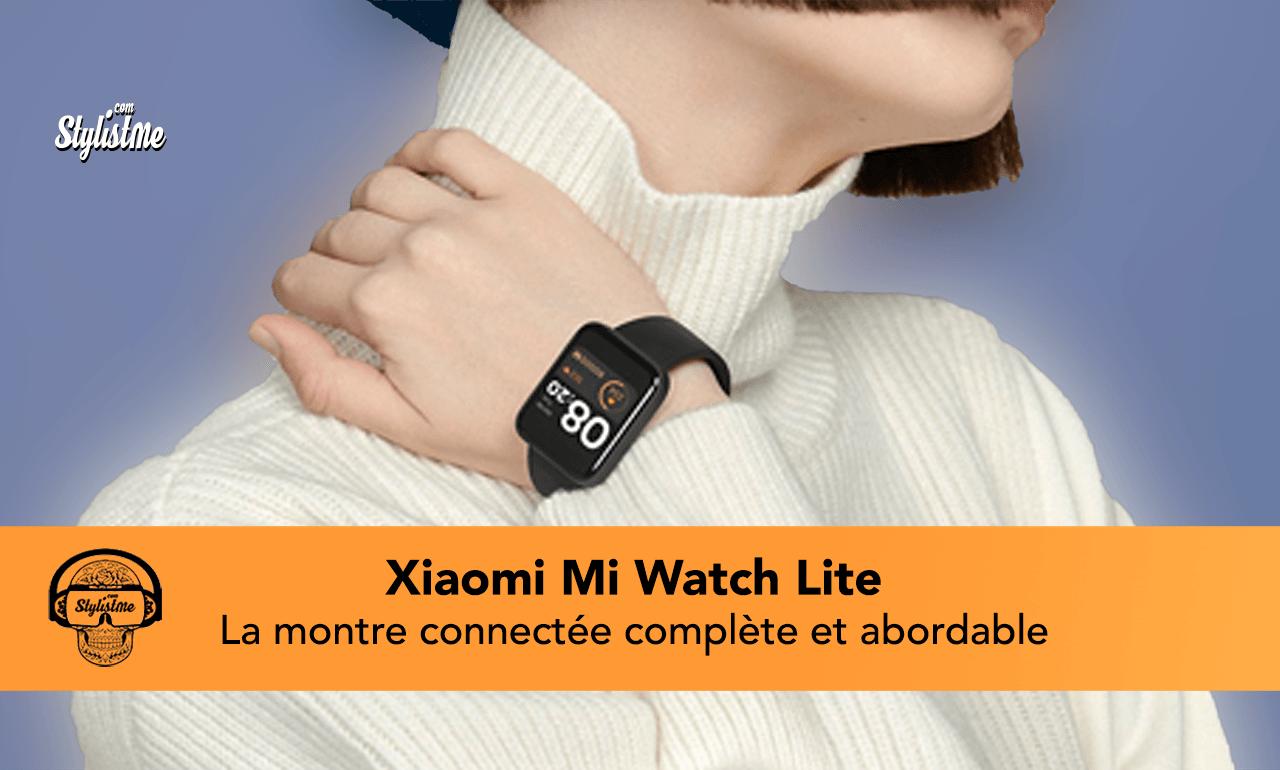 Xiaomi Mi Watch Lite avis test
