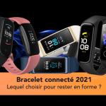 Bracelet connecté le meilleur pour le suivi d'activité et santé en 2021