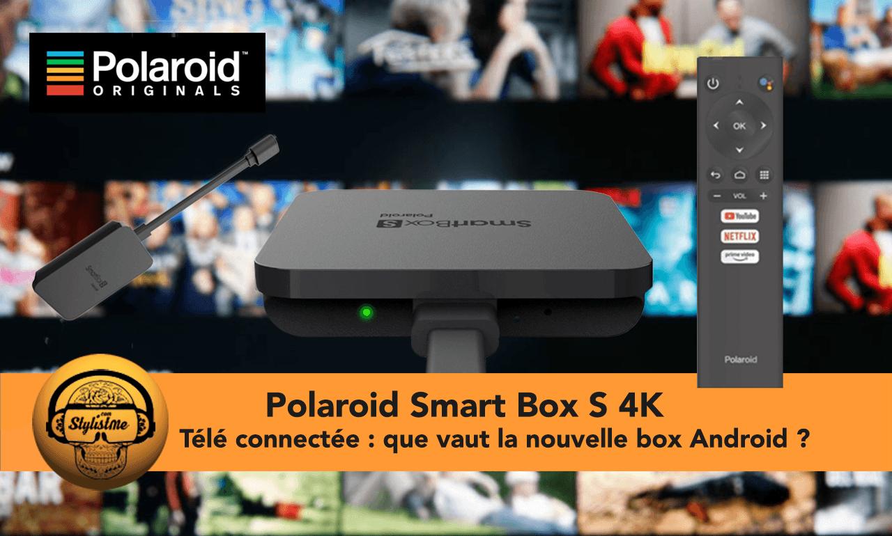 Polaroid Smart Box S 4K avis test