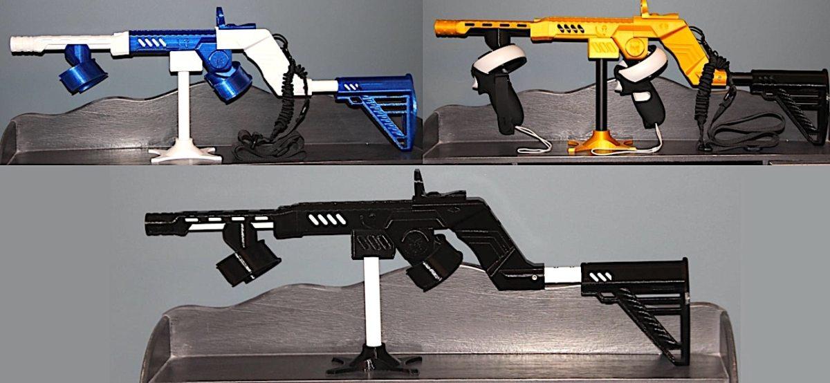 Ultimate VR Gun Quest 2 gunstock