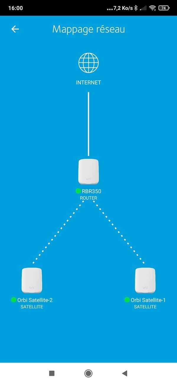 App Orbi maillage Wi-Fi 6