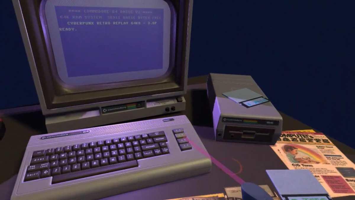 Commodore 64 sur Oculus Quest 2