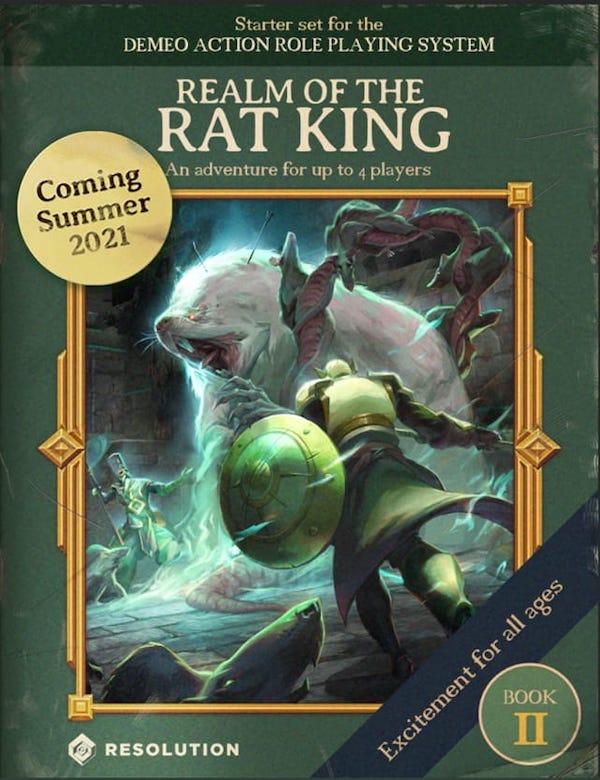 Demeo extension jeu Royaume du roi des rats