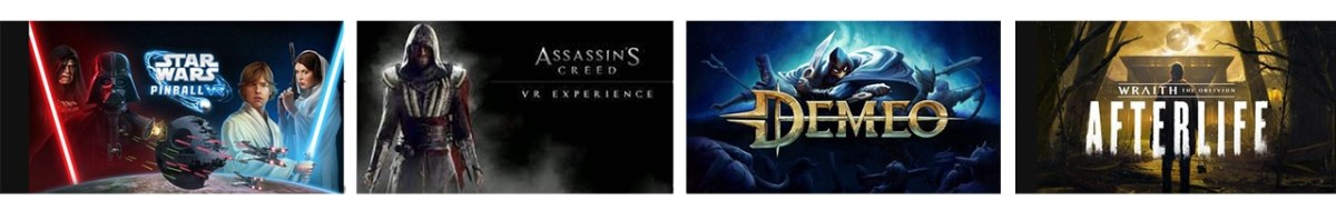 Oculus Gaming Showcase 2021 annonces