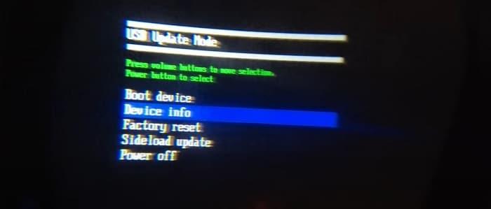 Oculus Quest 2 USB Update Mode