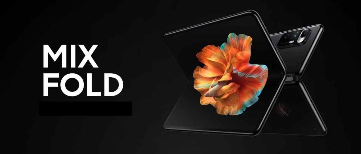 Xiaomi Mi Mix Fold prix