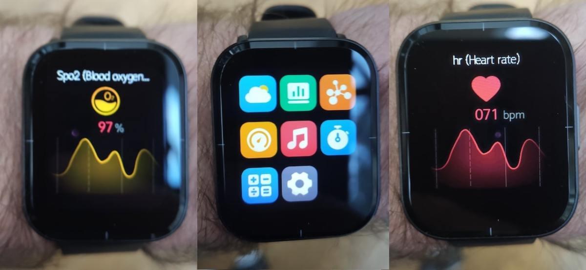 Test Mibro Color montre connectée