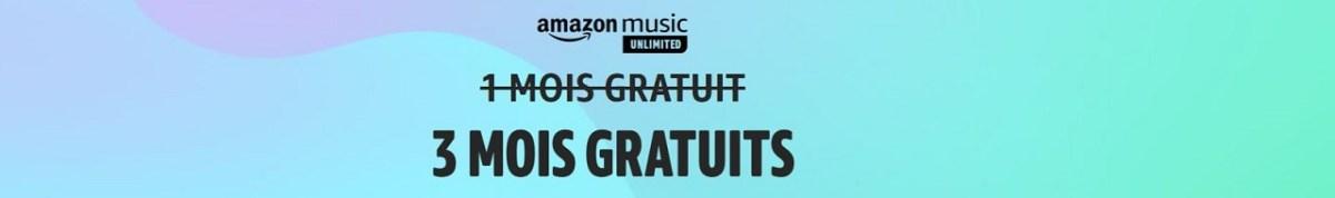 Amazon Music unlimited gratuit Amazon Prime Day juin 2021