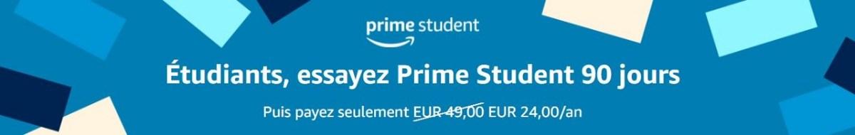 Amazon Prime Student gratuit Prime Day 2021