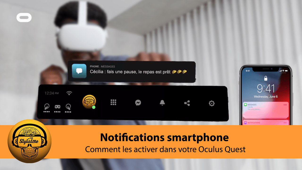 Comment activer notifications iPhone Quest