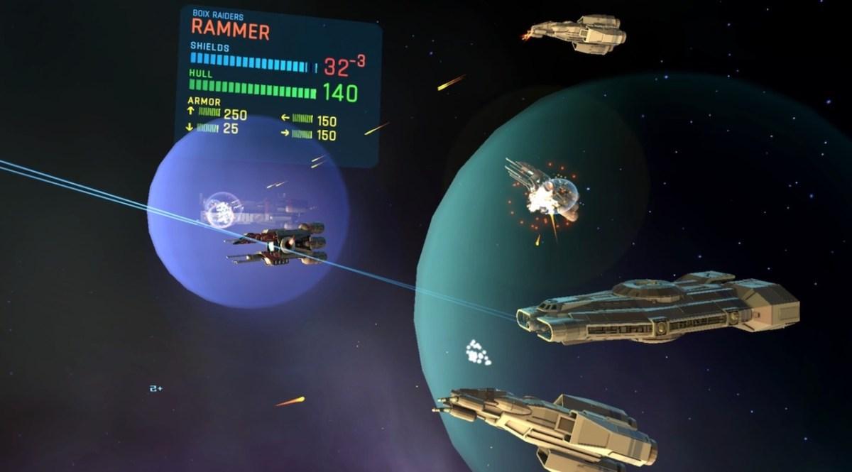 Eternal Starlight combat spatial Oculus Quest