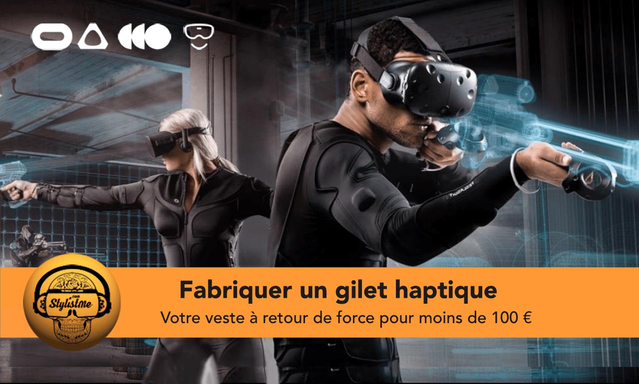 Fabriquer veste haptique VRFabriquer veste haptique VR