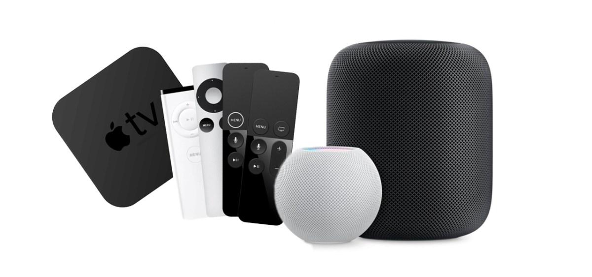 HomePod enceinte Apple TV
