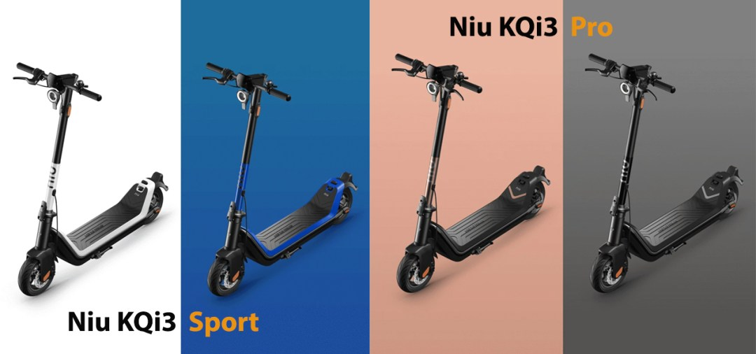 Niu KQi3 version sport ou pro