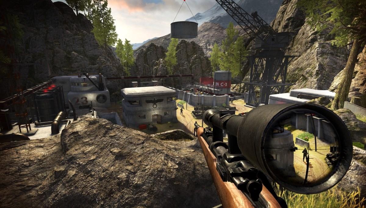 Sniper Elite VR Rift