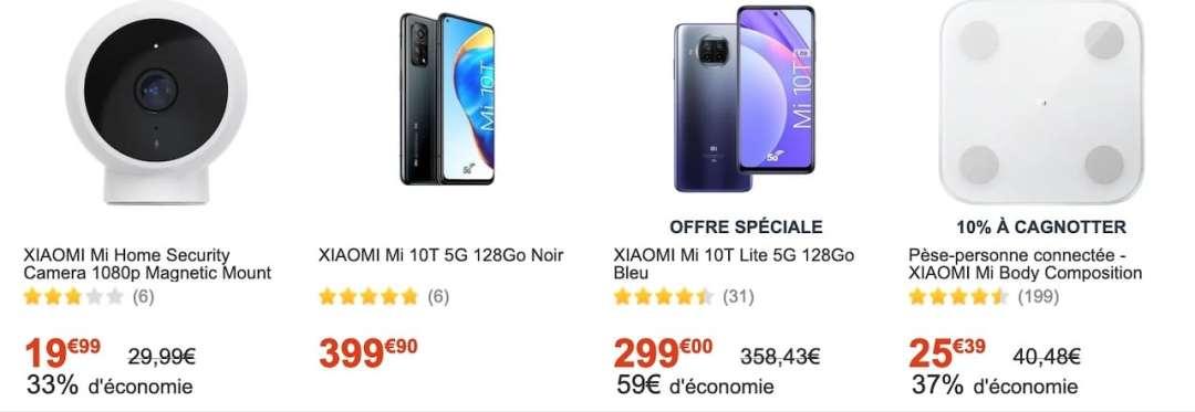 promotions Xiaomi