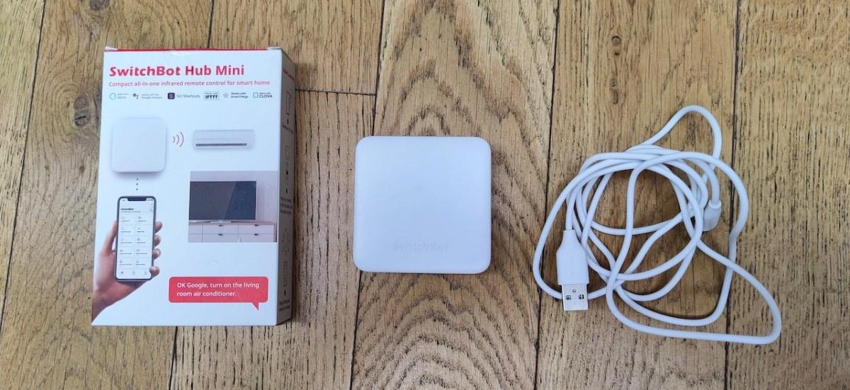 Switchbot Hub Mini test