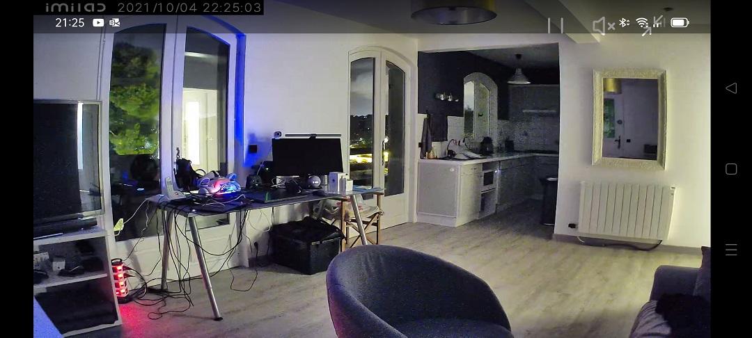 Image couleur faible luminosité C30
