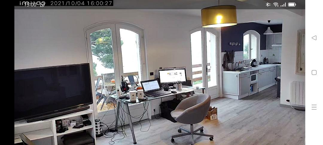 Imilab C30 caméra surveillance panoramique 360°