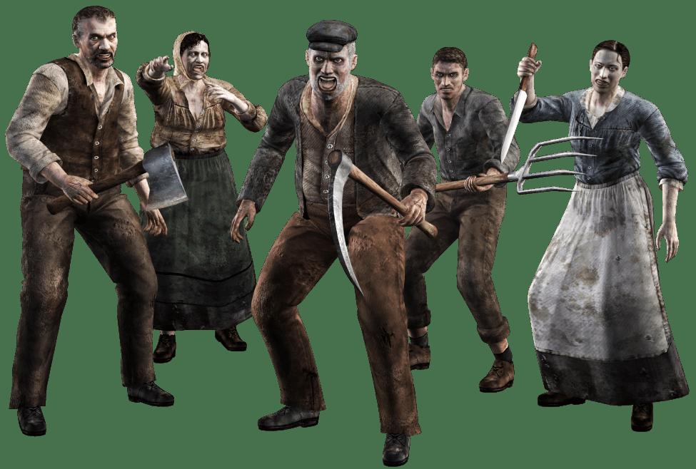 Resident Evil 4 Quest test