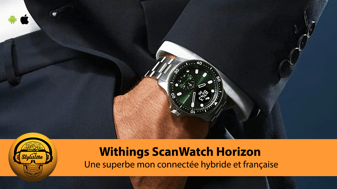 Withings ScanWatch Horizon test avis