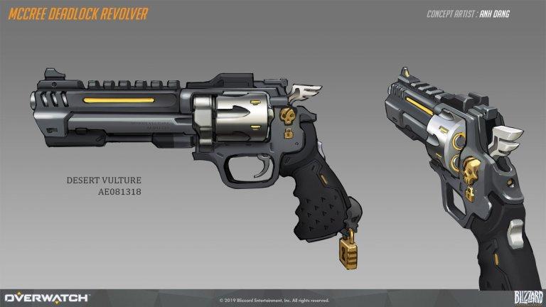 McCree Deadlock Revolver – Anh Dang