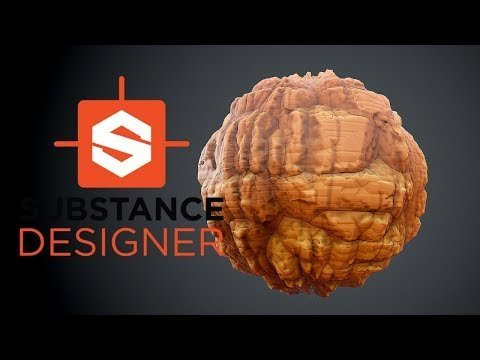 Substance Designer – Stylized Rock Wall