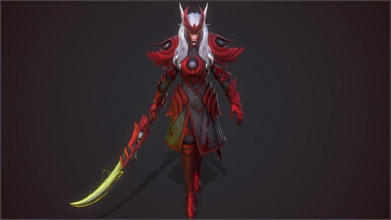 Blood Knight by Jack Walker