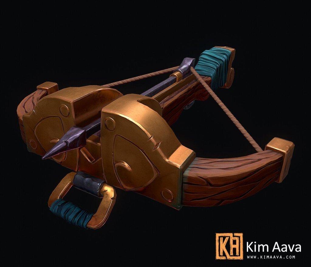 Stylized Crossbow by Kim Aava