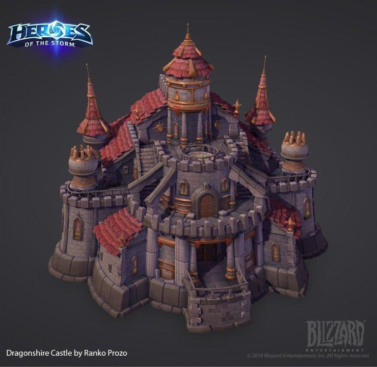 DragonShire Castle Kit by Ranko Prozo