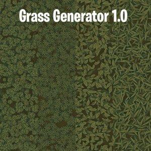 Grass Generator v1.0 SBSAR + Demo Scene + Ground Material By karalysson